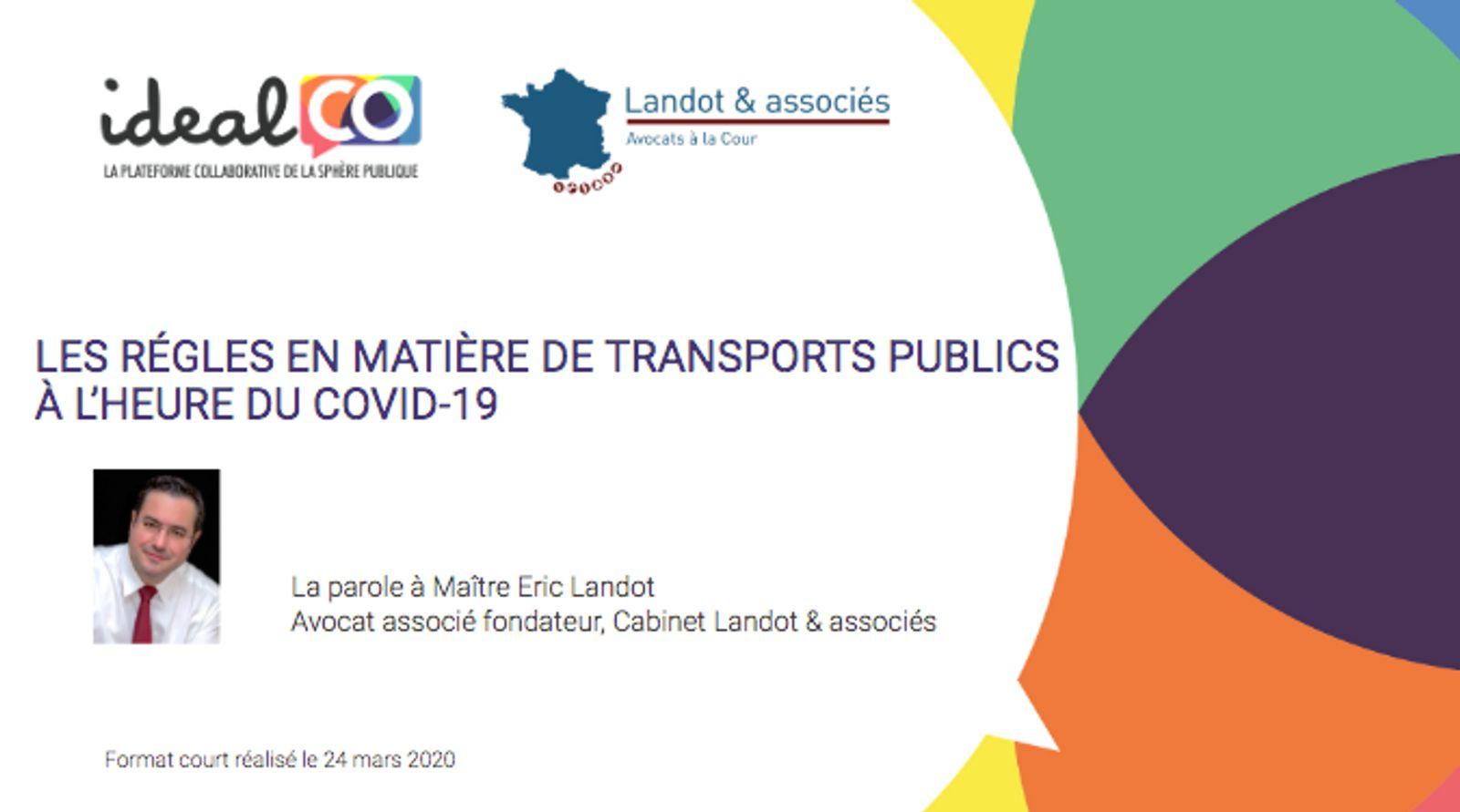 [FORMAT COURT] LES RÉGLES EN MATIÈRE DE TRANSPORTS PUBLICS  À L'HEURE DU COVID-19