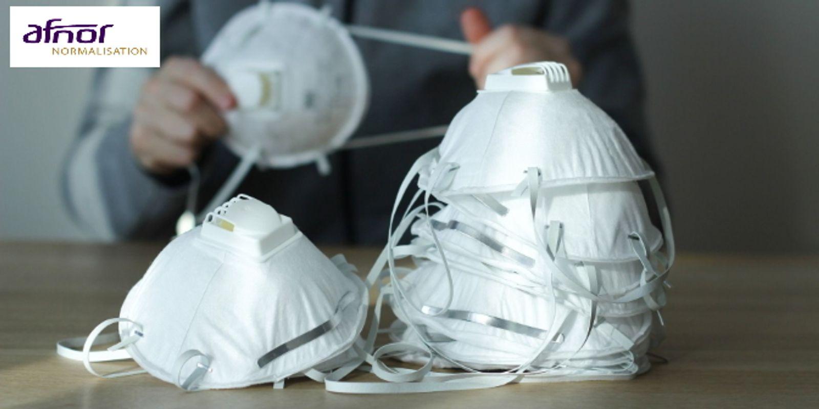 Confection de masques barrière : découvrez le référentiel AFNOR et partagez vos retours d'expérience !