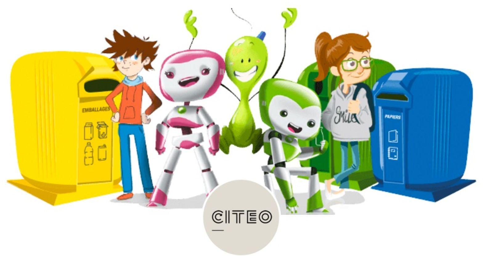 Quels sont les outils de CITEO pour l'éducation au développement durable et au tri des déchets ?
