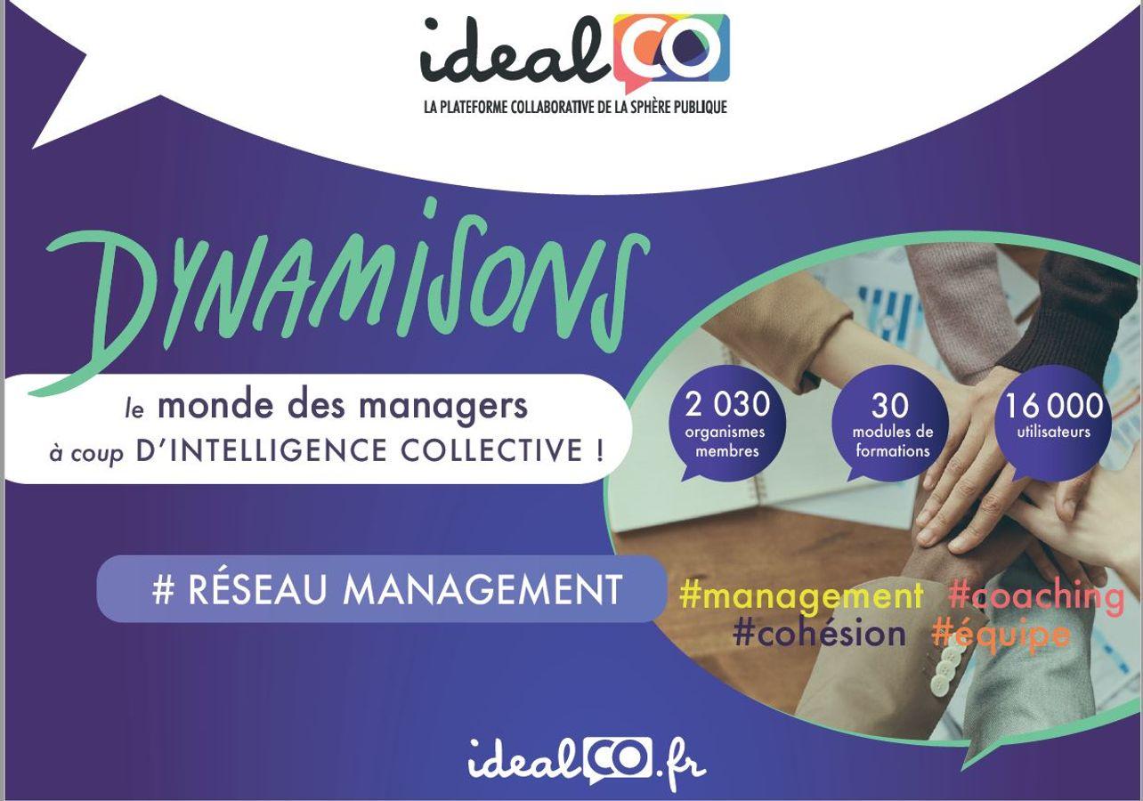 Venez découvrir la nouvelle communauté MANAGEMENT d'idealCO