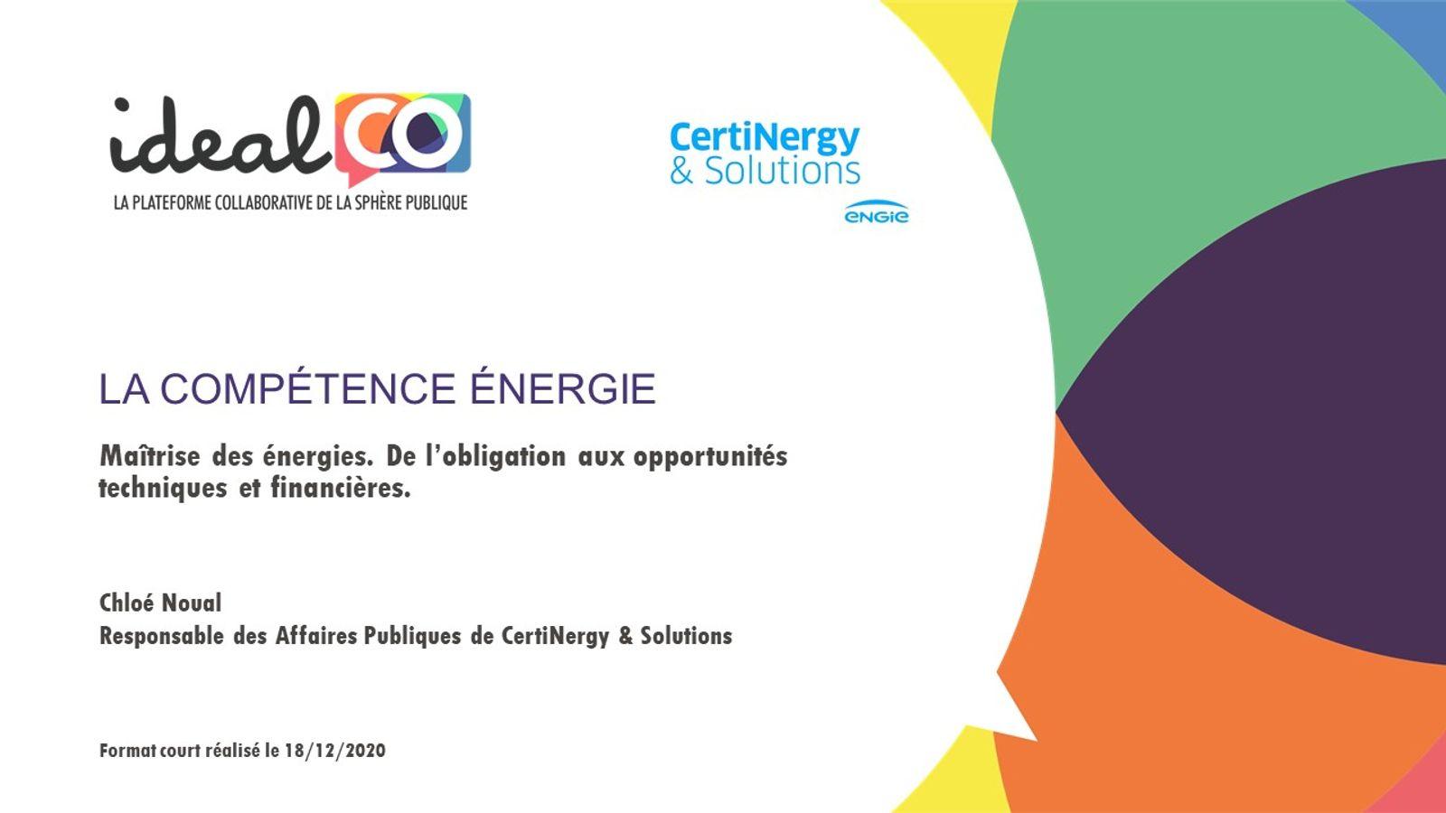 [FORMAT COURT] Compétence énergie : de quoi parle-t-on ?