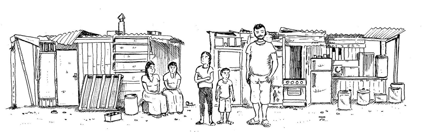 La campagne de sensibilisation et de vaccination dans les bidonvilles