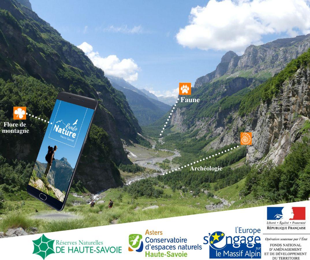 """""""RandoNature Haute-Savoie"""" : un outil numérique pour allier randonnée et protection des milieux naturels. Retour d'expérience du CEN Haute-Savoie"""