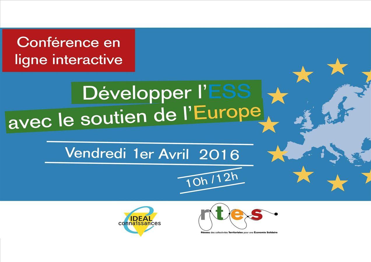 Développer l'ESS avec le soutien de l'Europe