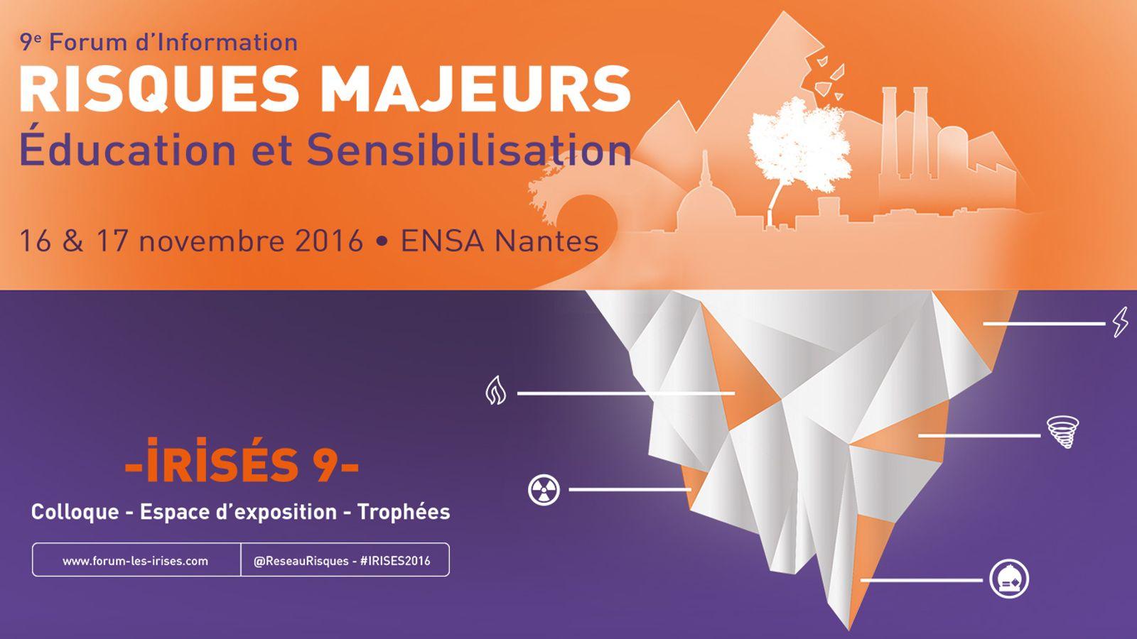 9e Forum d'Information sur les Risques majeurs, Éducation et Sensibilisation (IRISÉS) à Nantes