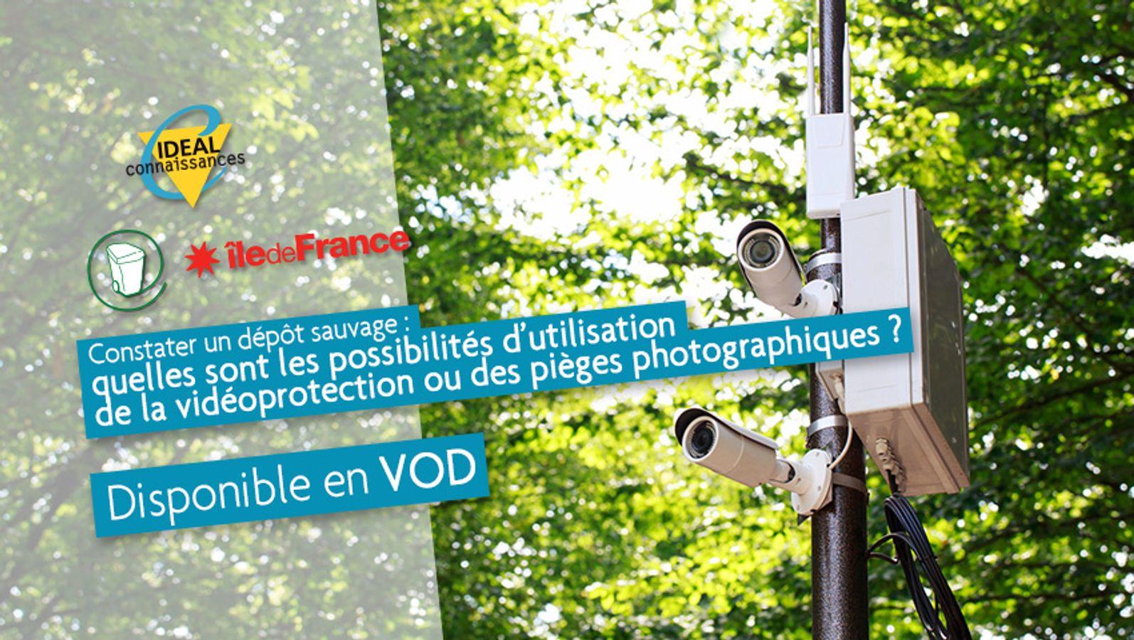 Constater un dépôt sauvage : quelles sont les possibilités d'utilisation de la vidéoprotection ou des pièges photographiques ?