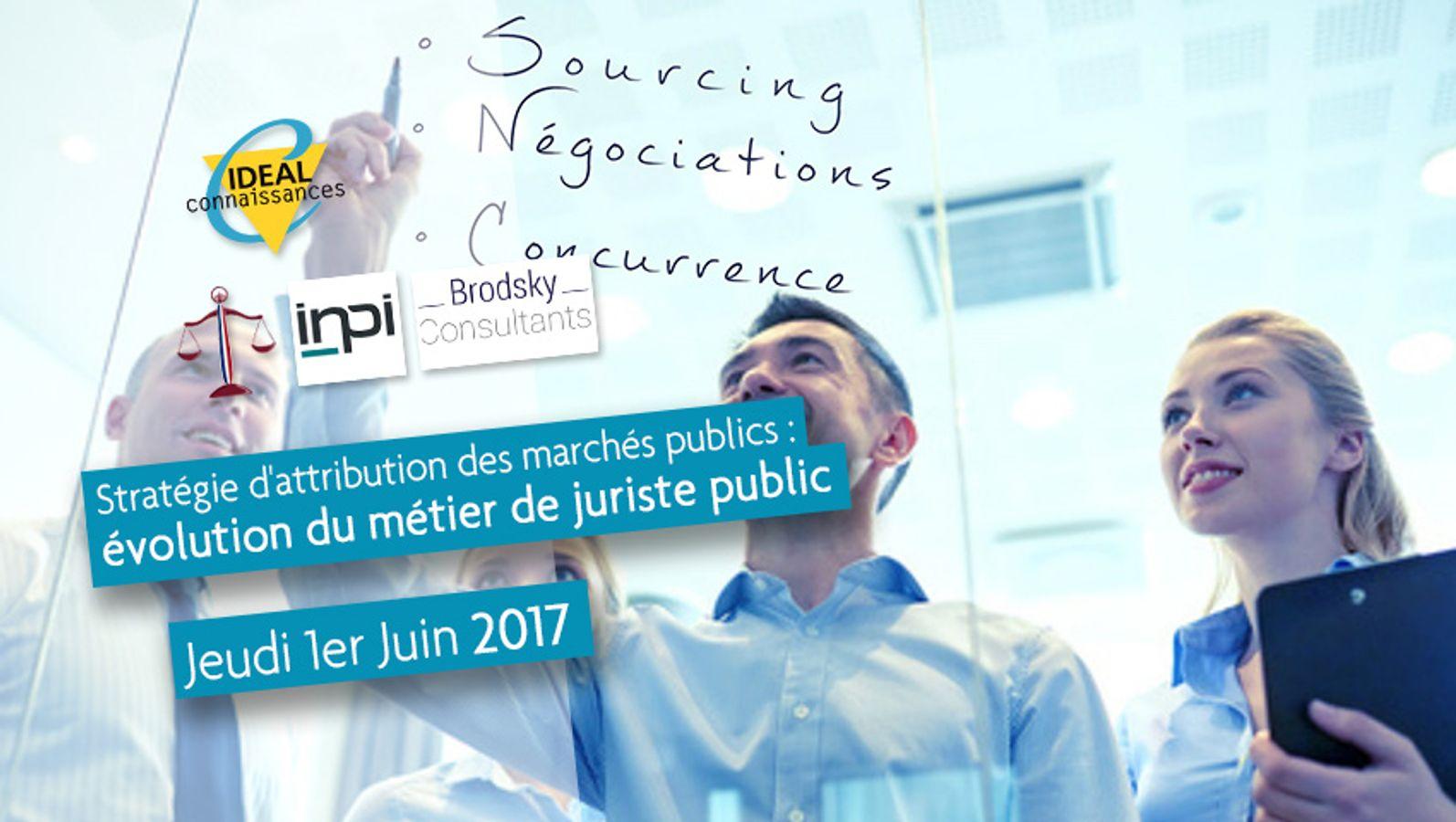 Stratégie d'attribution des marchés publics : évolution du métier de juriste public