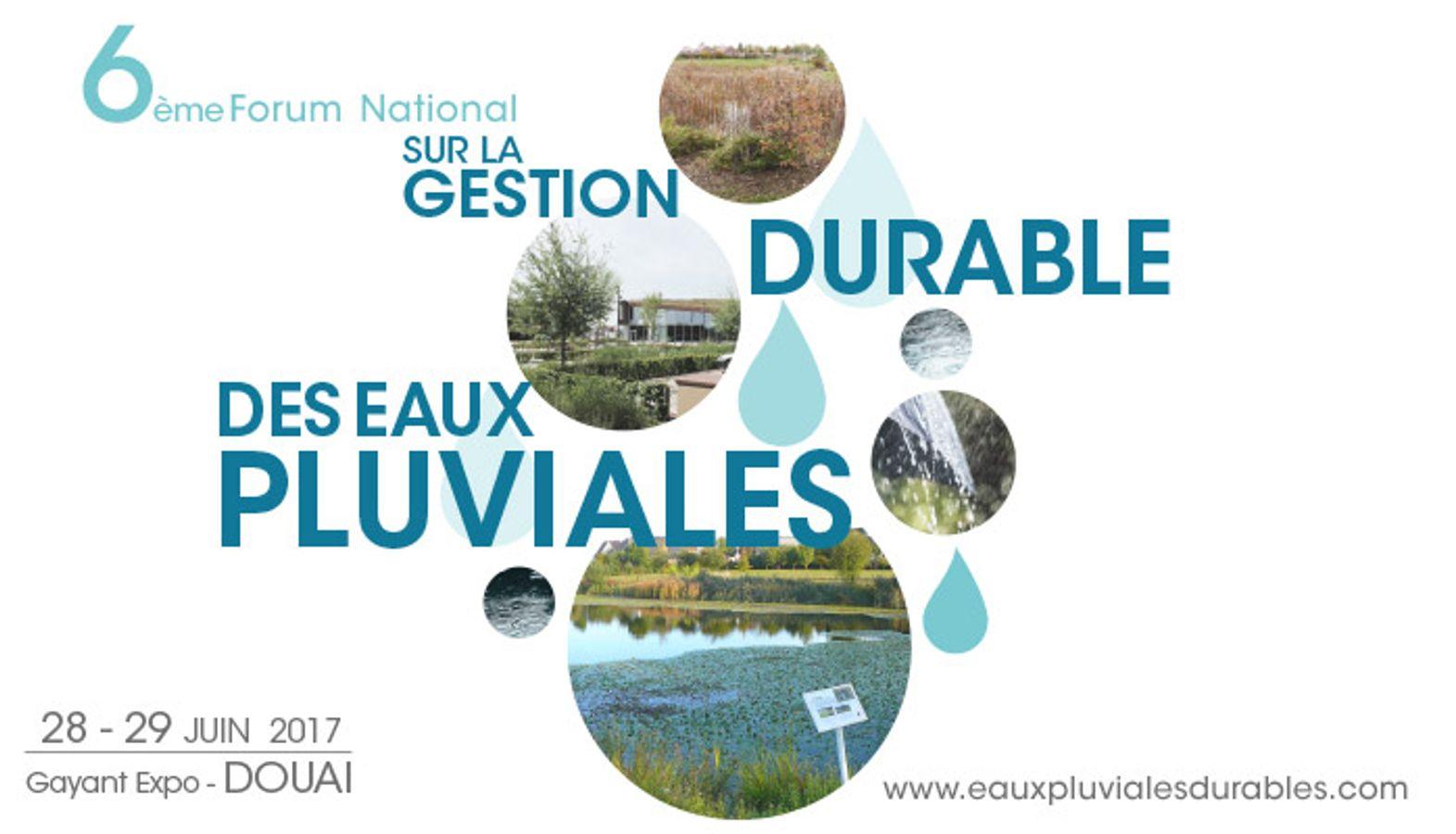 Forum Eaux Pluviales 2017 - Supports de présentation
