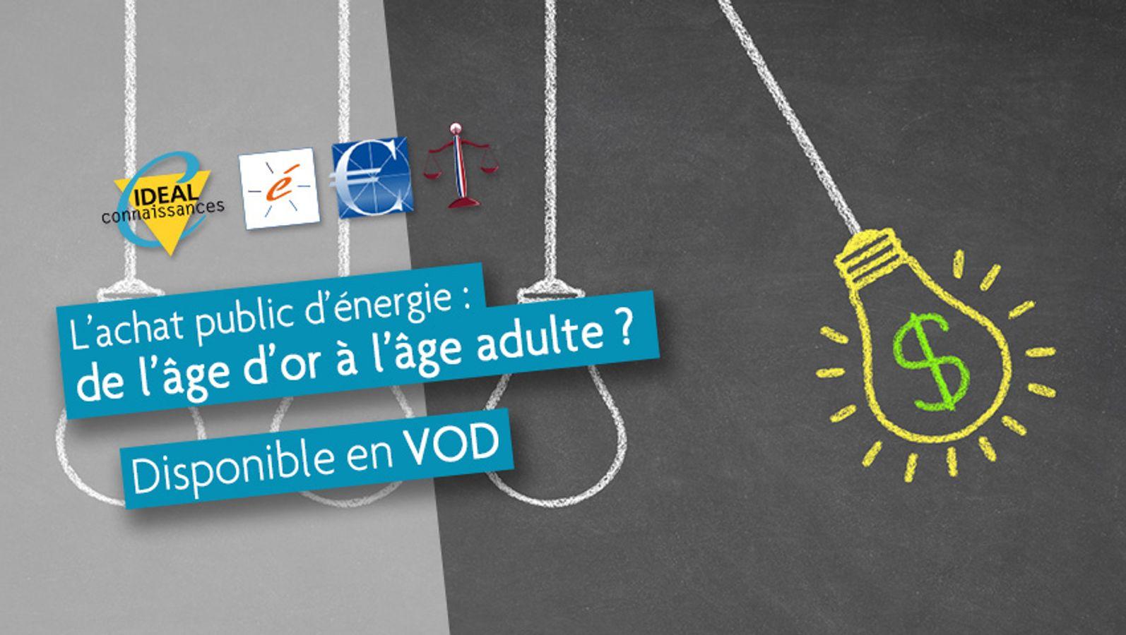 L'achat public d'énergie : de l'âge d'or à l'âge adulte ?