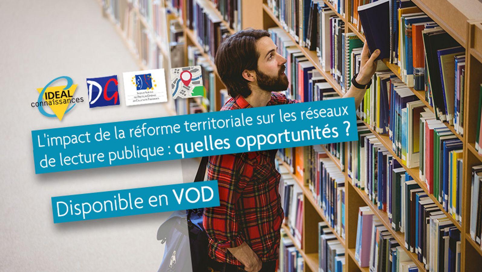 L'impact de la réforme territoriale sur les réseaux de lecture publique : quelles opportunités ?