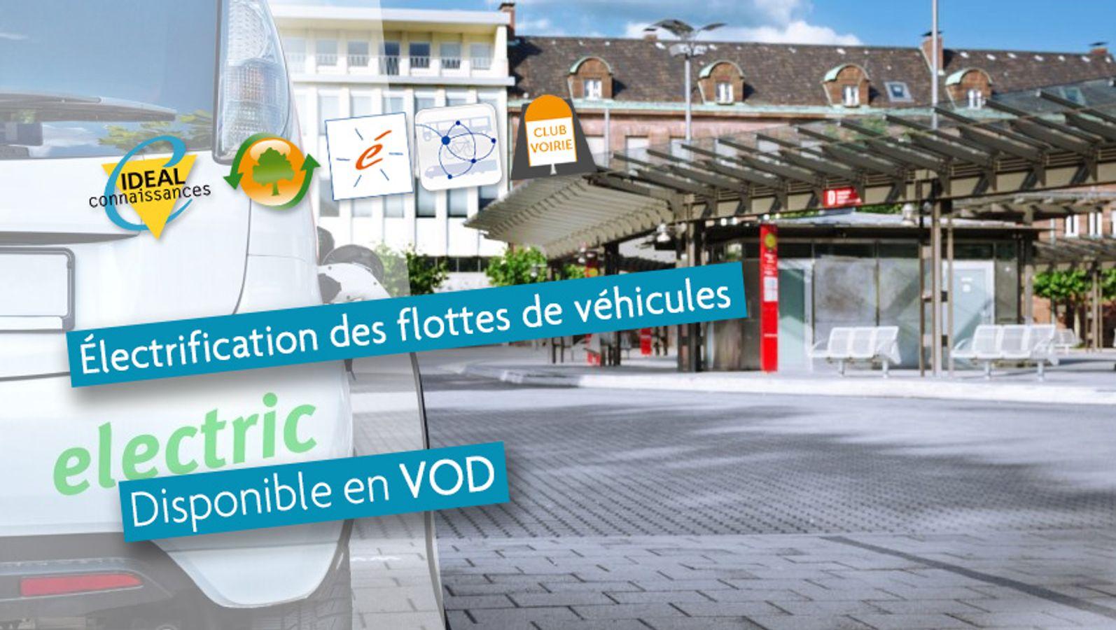 Électrification des flottes de véhicules