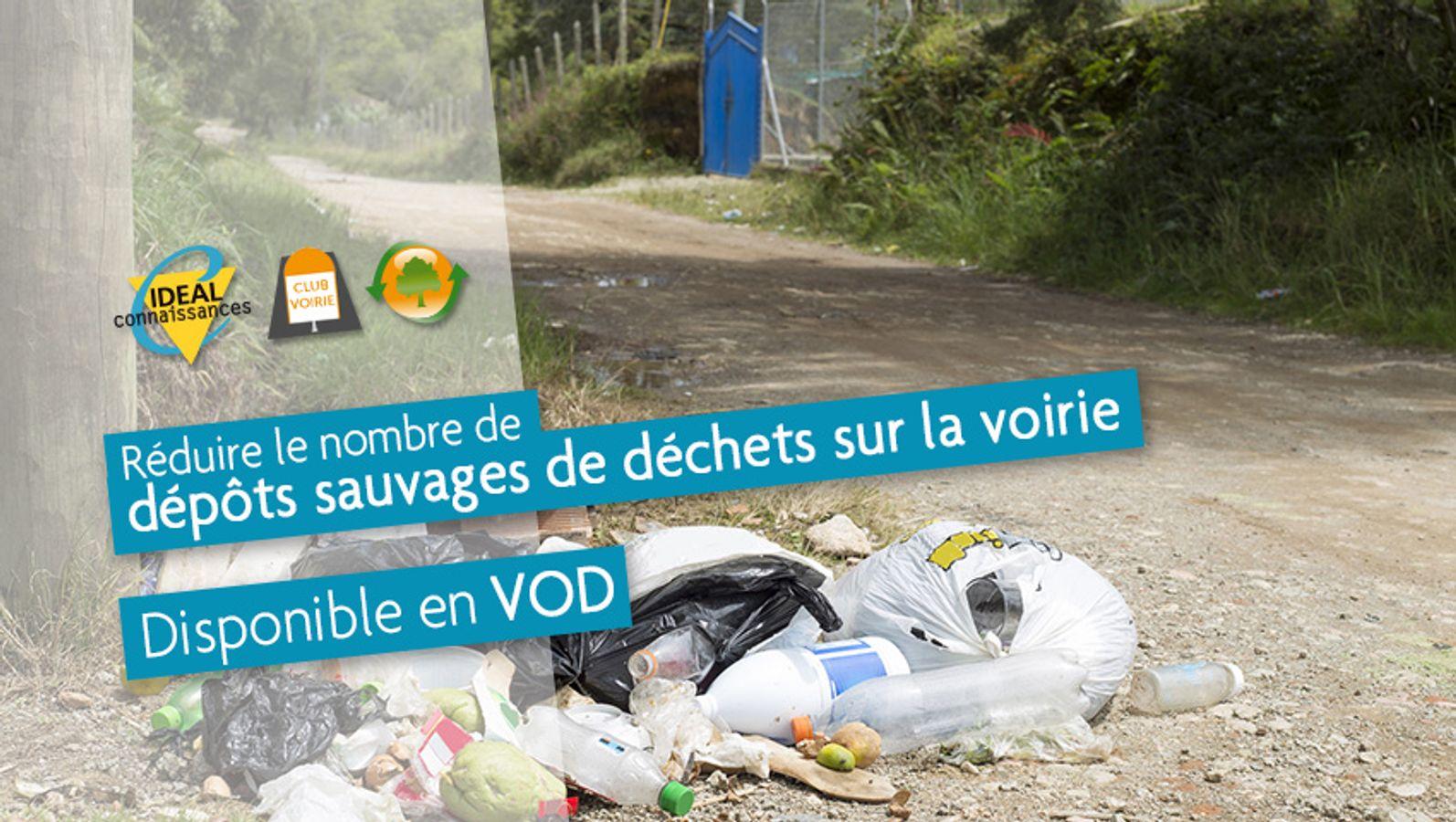 Réduire le nombre de dépôts sauvages de déchets sur la voirie