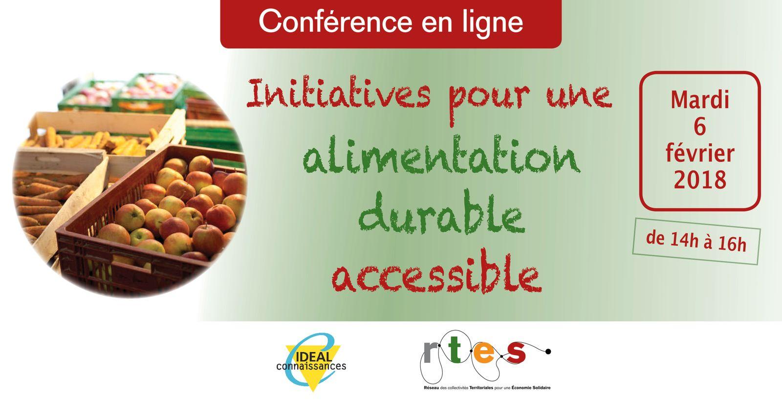 Initiatives pour une alimentation durable accessible