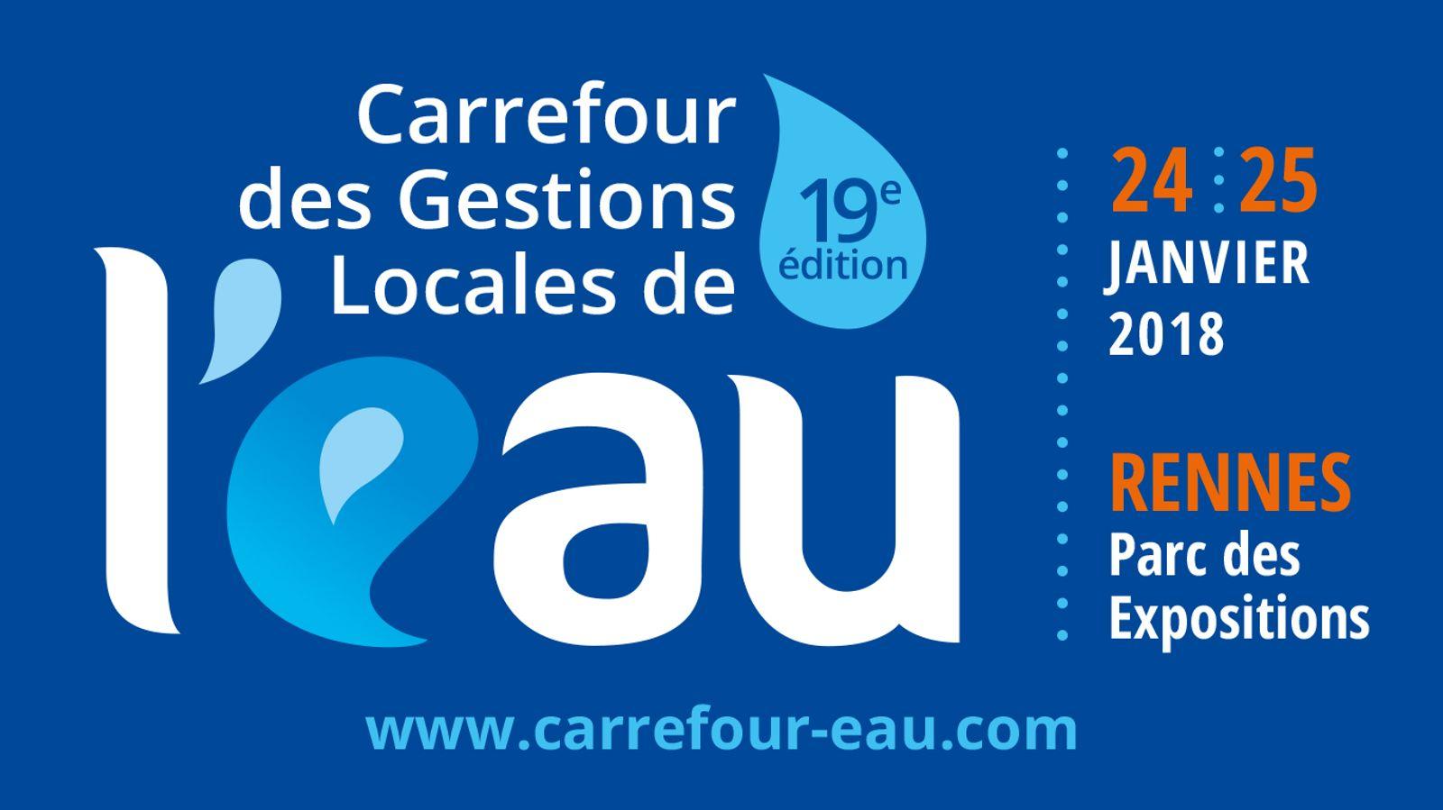 [CGLE19] Carrefour des Gestions Locales de l'eau 2018 - Focus