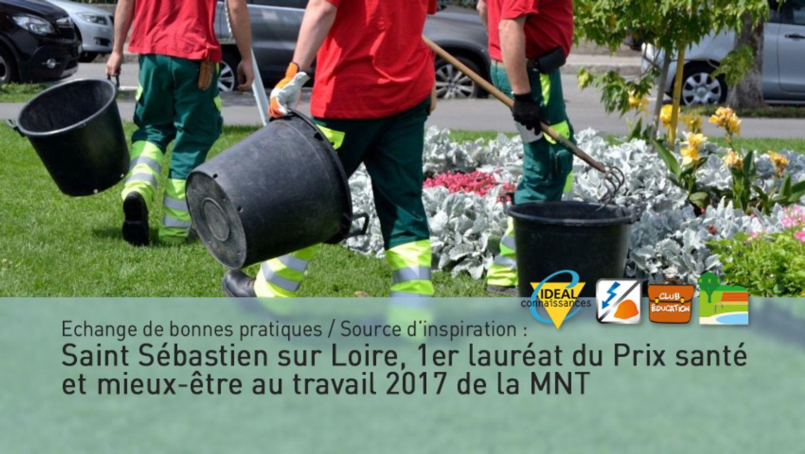 Pour lutter contre les TMS des agents des espaces publics et de la restauration scolaire, la mairie de St Sébastien sur Loire présente sa politique de prévention innovante et vraiment différente