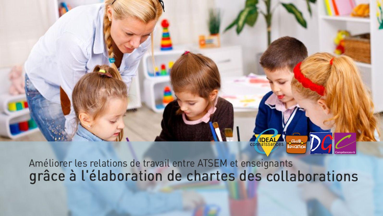 Améliorer les relations de travail entre ATSEM et enseignants grâce à l'élaboration de chartes des collaborations