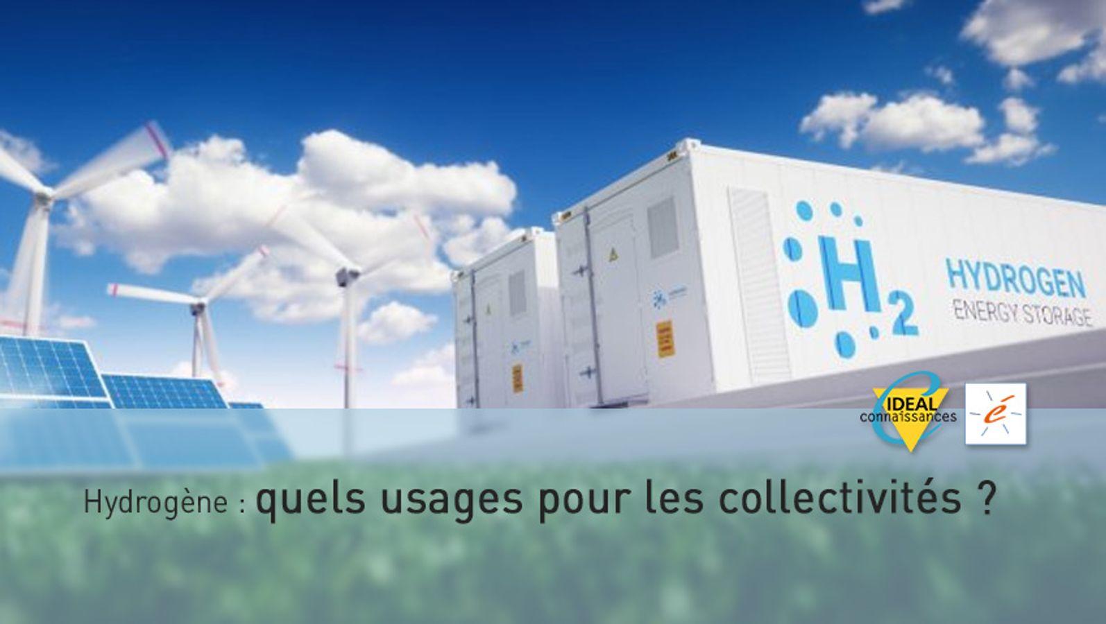 Hydrogène : quels usages pour les collectivités ?