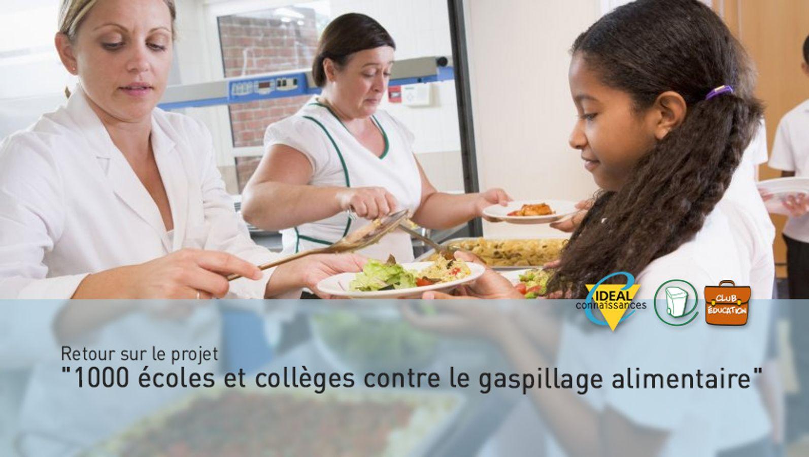 """Retour sur le projet """"1000 écoles et collèges contre le gaspillage alimentaire"""""""