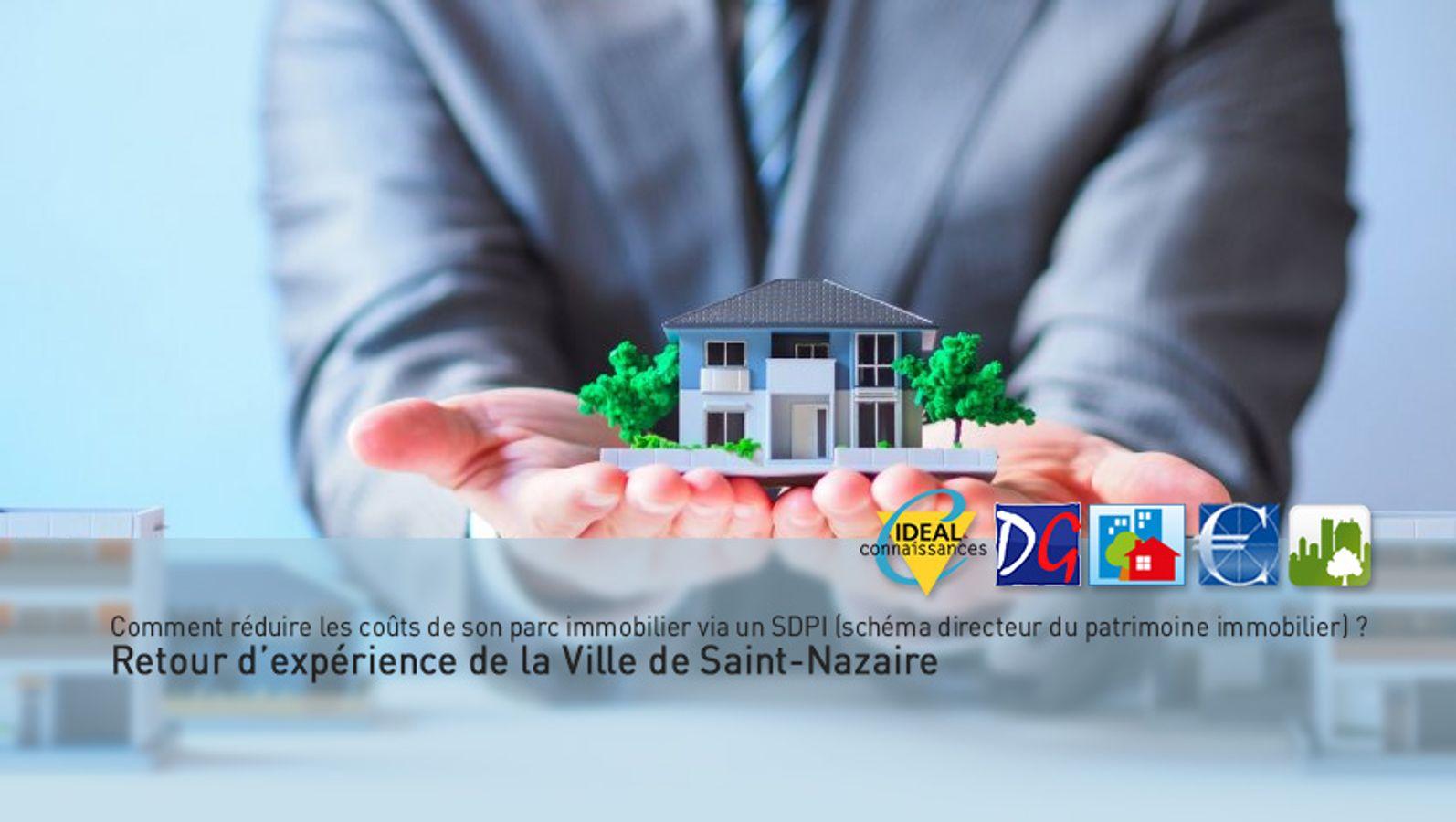 Comment réduire les coûts de son parc immobilier via un SDPI (schéma directeur du patrimoine immobilier) ? Retour d'expérience de la Ville de Saint-Nazaire