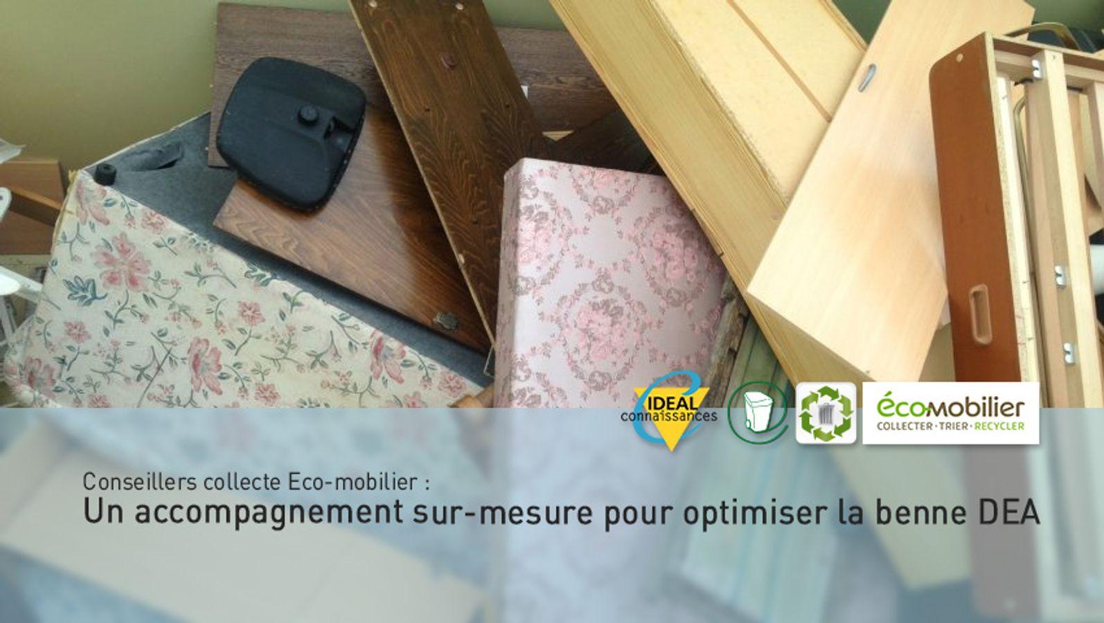 Conseillers collecte Eco-mobilier : Un accompagnement sur-mesure pour optimiser la benne DEA