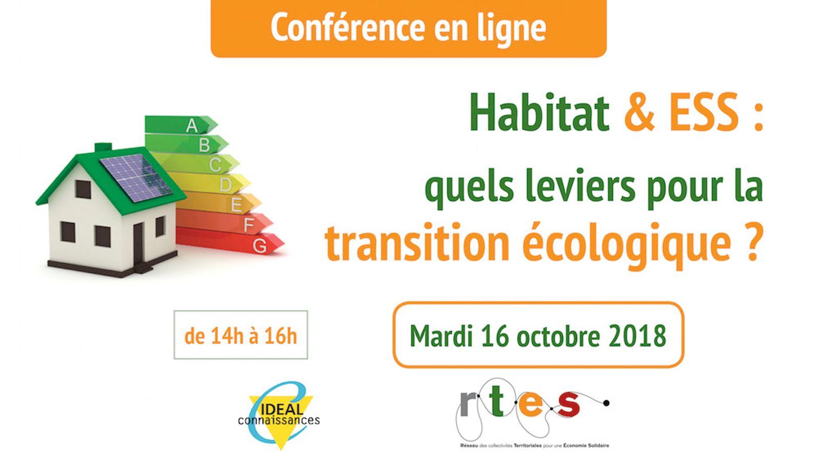 Habitat & ESS : Quels leviers pour la transition écologique ?
