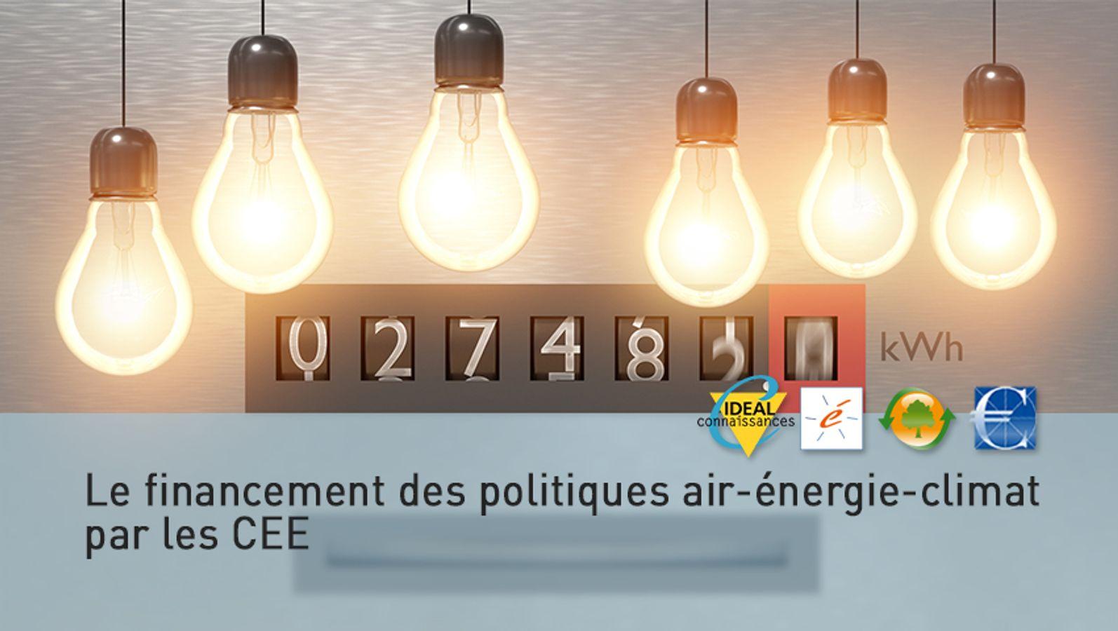 Le financement des politiques air-énergie-climat par les CEE