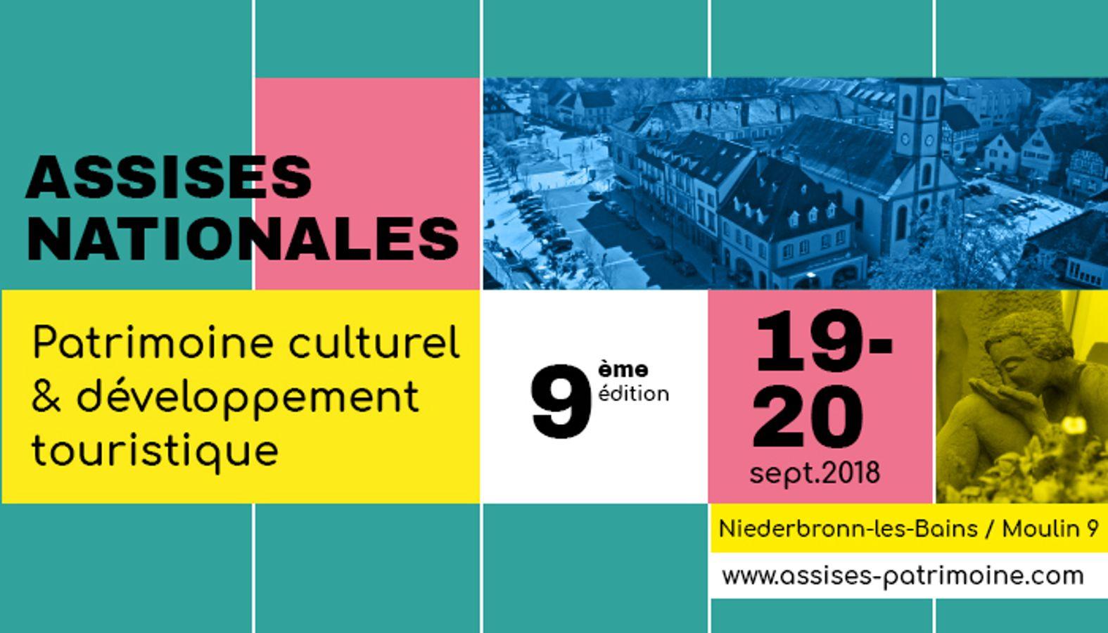 9emes Assises Nationales Patrimoine culturel et développement touristique