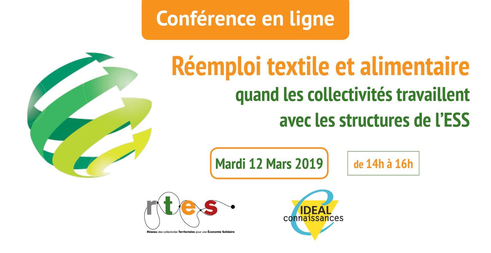 Réemploi textile et alimentaire : quand les collectivités travaillent avec les structures de l'ESS