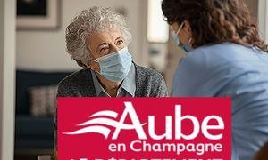 La gestion de la crise Covid dans l'Aube : soutien aux établissements et services à domicile